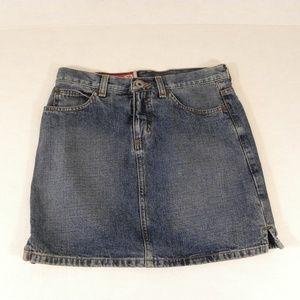 Guess Jeans Denim Mini Skirt Size 24 Blue